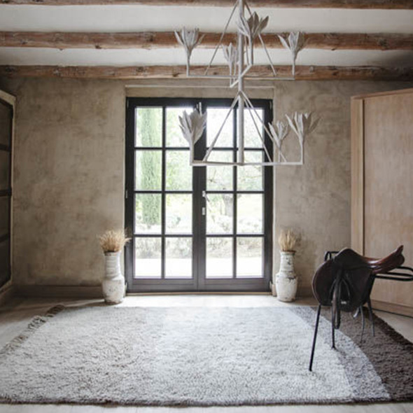 Lorena Canals XL Woolable Rug Free Your Soul Forever Always