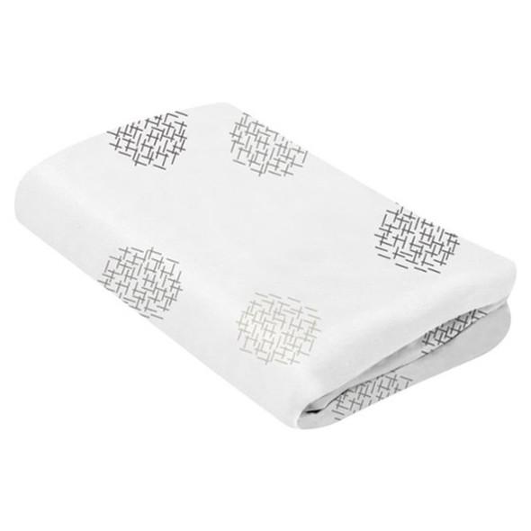 4Moms Breeze Plus Cotton Bassinet Sheet   White