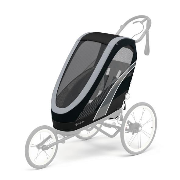 Cybex Zeno Jogging Stroller Seat Pack - All Black