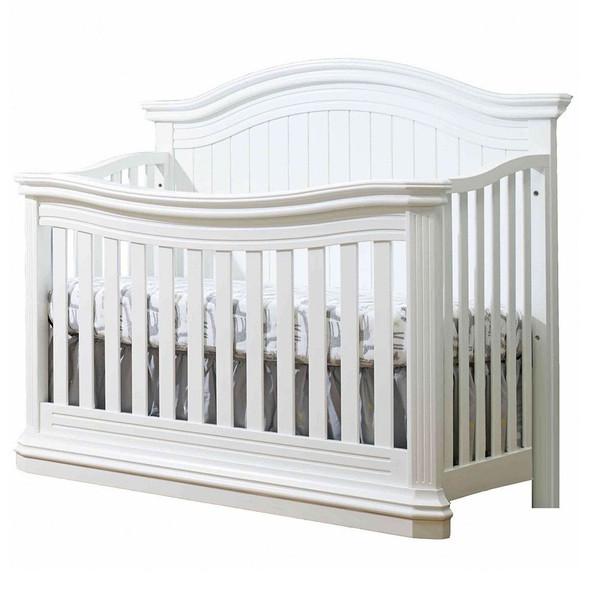 Sorelle Vista Elite Supreme 4-in-1 Convertible Crib in White