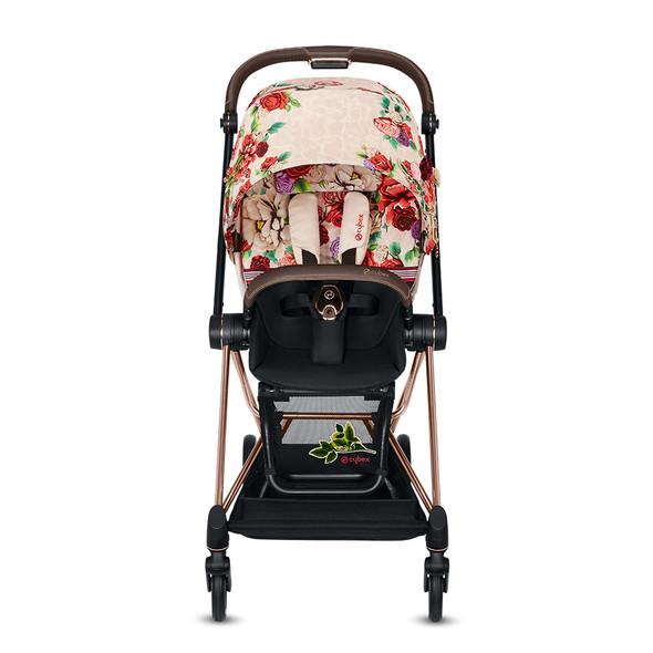 Cybex Priam Rosegold Priam Stroller - Spring Blossom - Light Beige