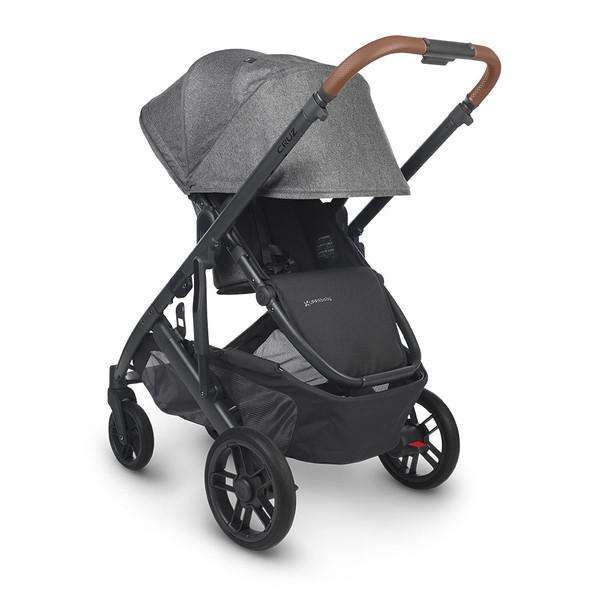 UPPAbaby CRUZ V2 Stroller - GREYSON (charcoal melange/carbon/saddle leather)
