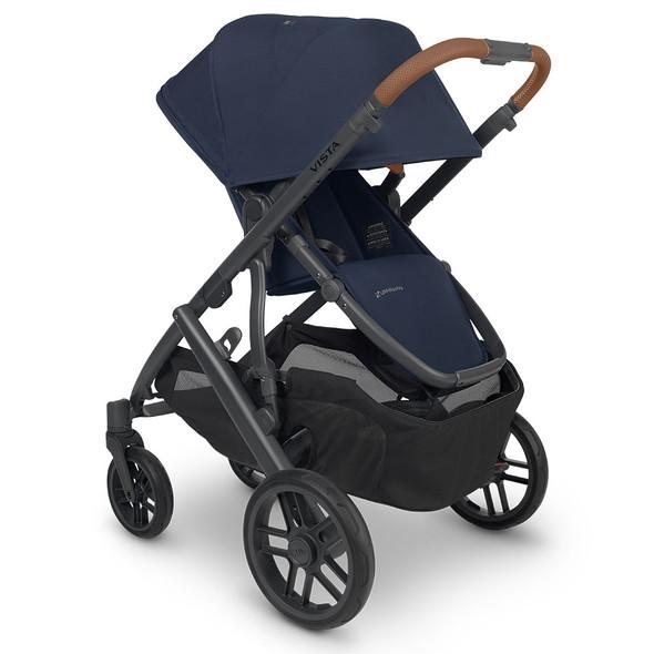 UPPAbaby VISTA V2 Stroller - NOA (navy/carbon/saddle leather)