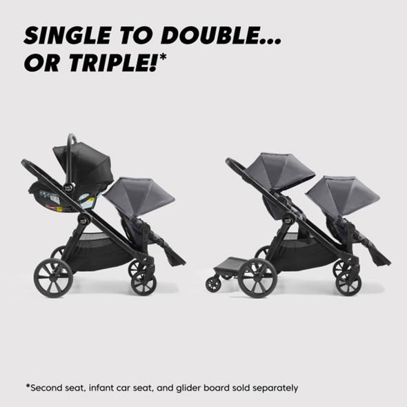 Baby Jogger City Select 2 Base in Flint Sage