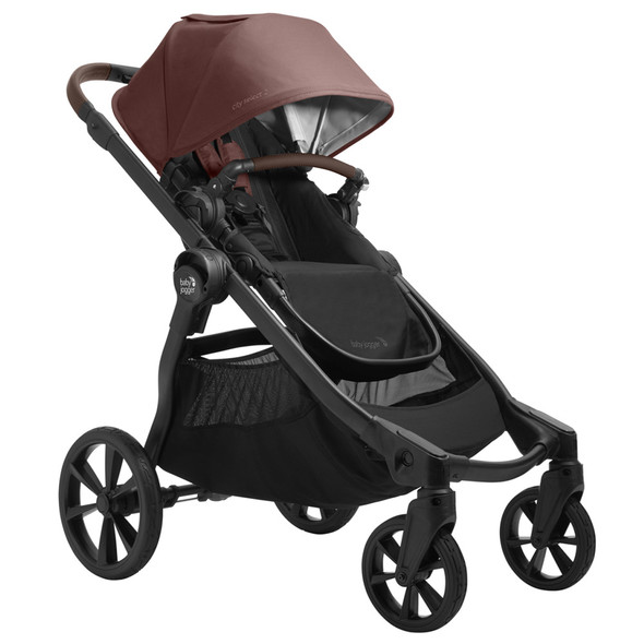 Baby Jogger City Select 2 with Tencel in Pure Mulberry