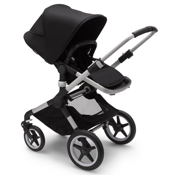 Bugaboo Fox3 Complete Stroller in Old Aluminum/Midnight Black-Midnight Black