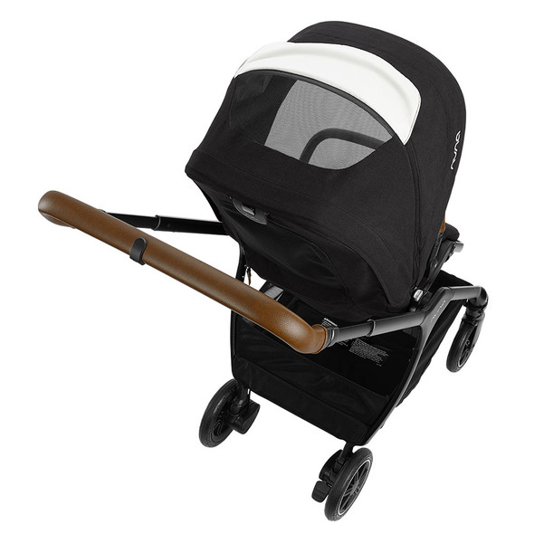 Nuna TRIV Series Stroller with Magnetic Buckle in Caviar