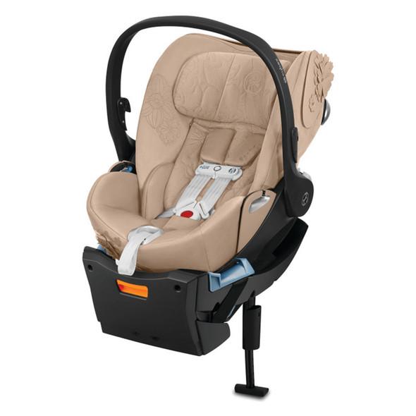 Cybex Cloud Q SensorSafe Car Seat - Simply Flowers -  Nude beige