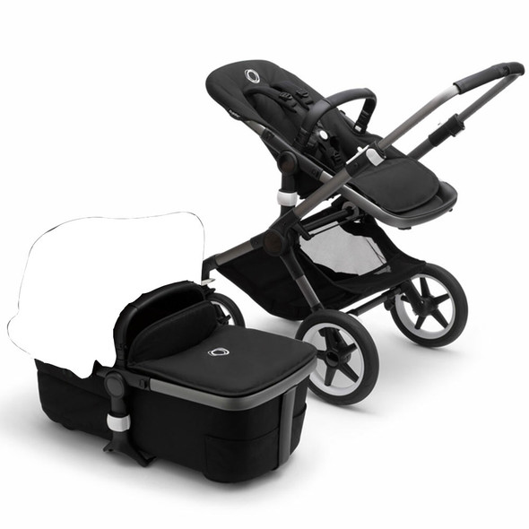 Bugaboo Fox3 Base in Graphite/Midnight Black (Canopy Sold Separately)