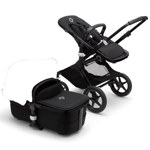 Bugaboo Fox3 Base in Black/Midnight Black (Canopy Sold Separately)
