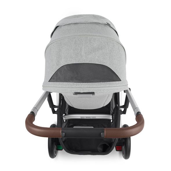 UPPAbaby CRUZ V2 Stroller - STELLA - (grey brushed melange/silver/chestnut leather)