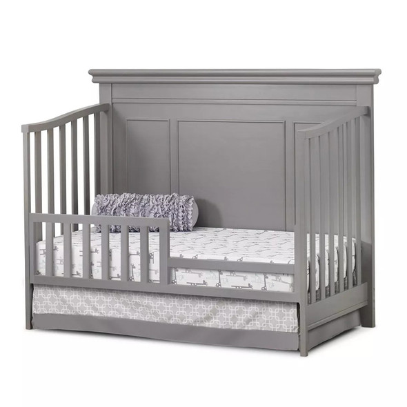 Sorelle Finley Lux Flat Top Crib in Weathered Gray