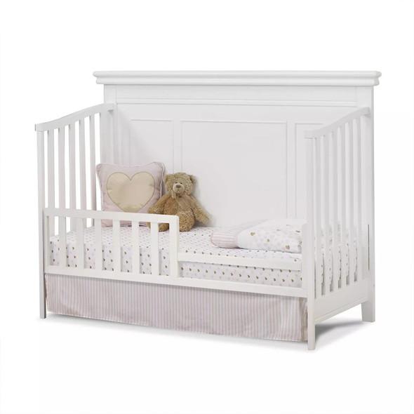 Sorelle Finley Lux Flat Top Crib in White
