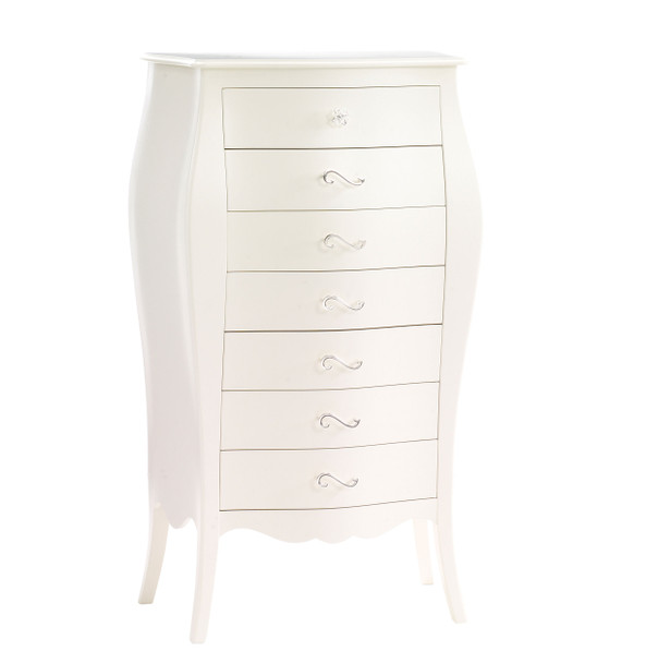 Natart Allegra Collection Lingerie Chest in French White