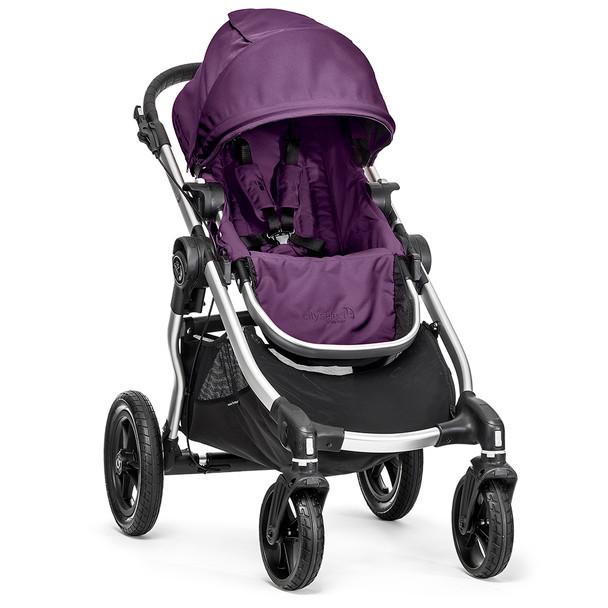 Baby Jogger City Select Single-Silver Frame-Amethyst
