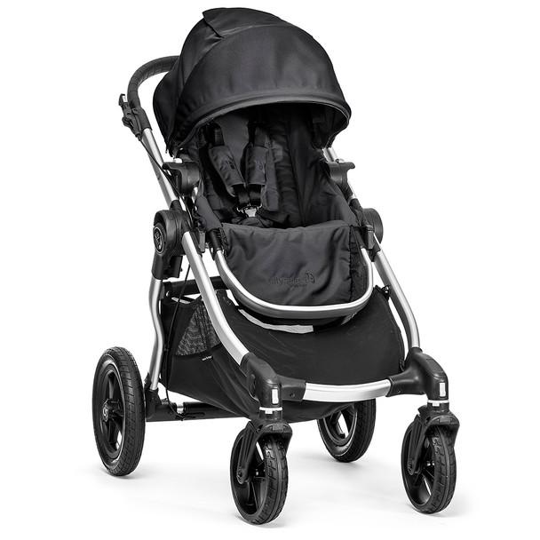Baby Jogger City Select Single-Silver Frame-Onyx