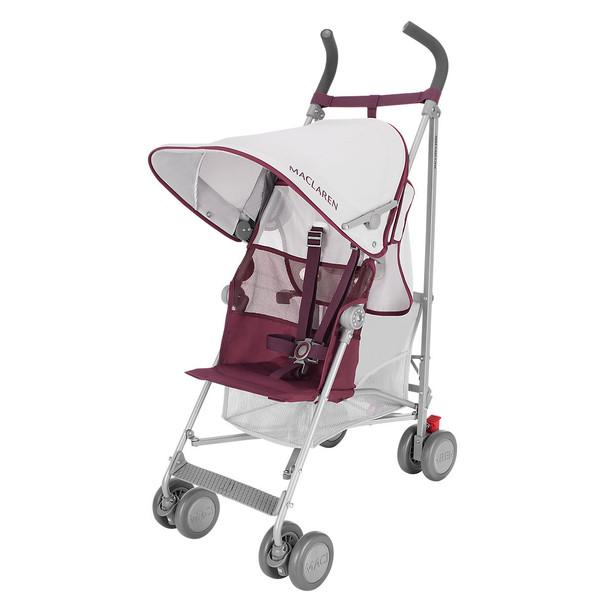 Maclaren Volo Stroller in Silver/Plum