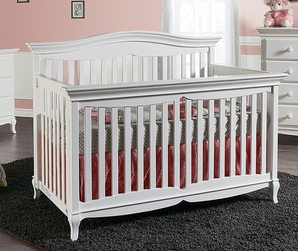 Pali Mantova Collection Forever Crib in White