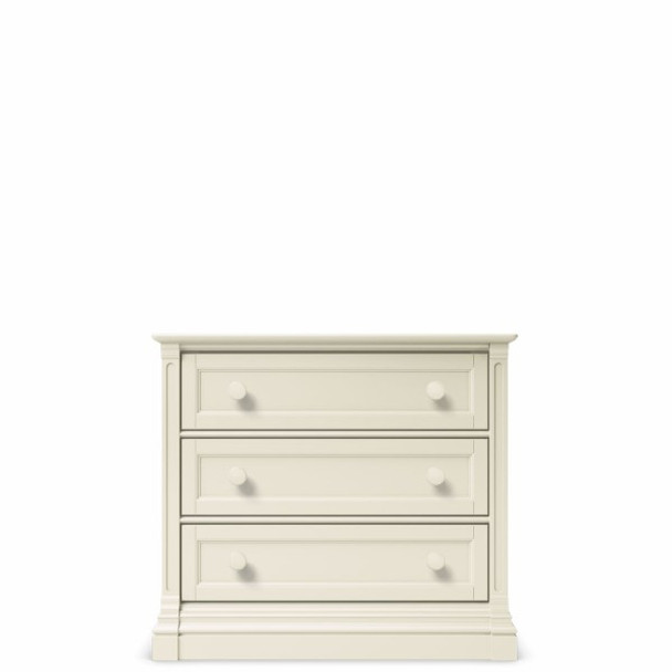 Romina Imperio Collection 3 Drawer Chest in Bianco Satinato