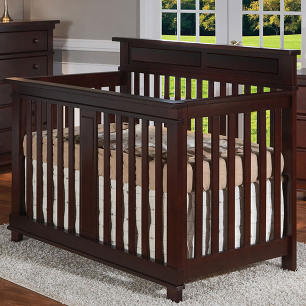 Pali Torino Collection Forever Crib in Mocacchino