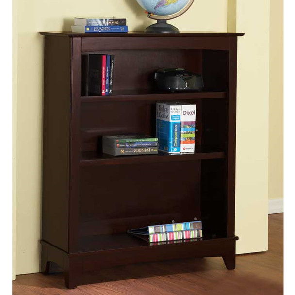 Pali Trieste Collection Bookcase Hutch in Vintage Cherry