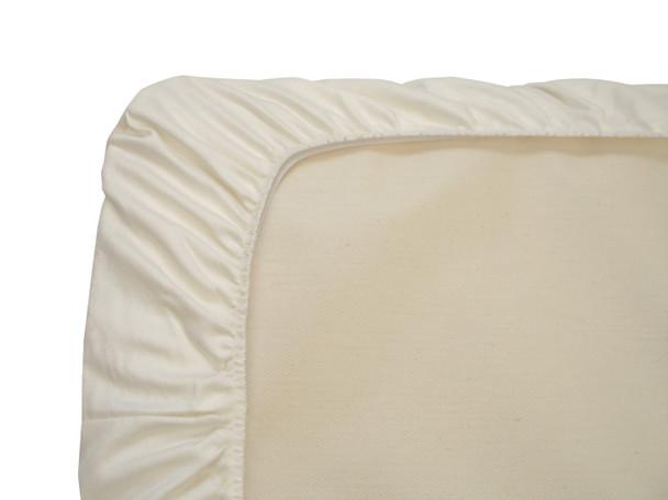 Naturepedic Crib Sheet - Ivory Sateen