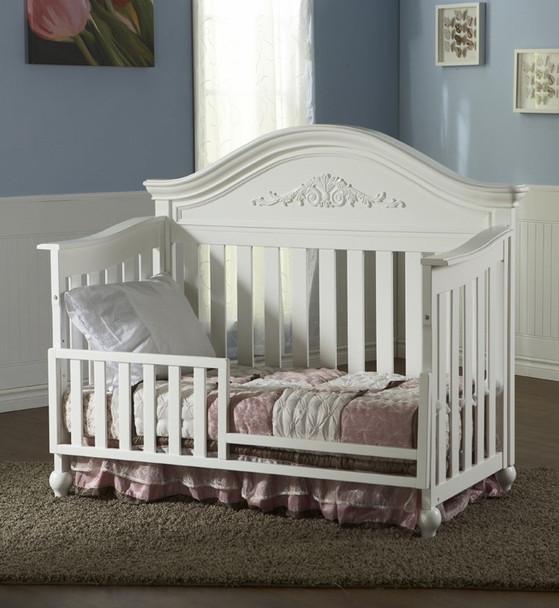 Pali Gardena Collection Toddler Rail in White