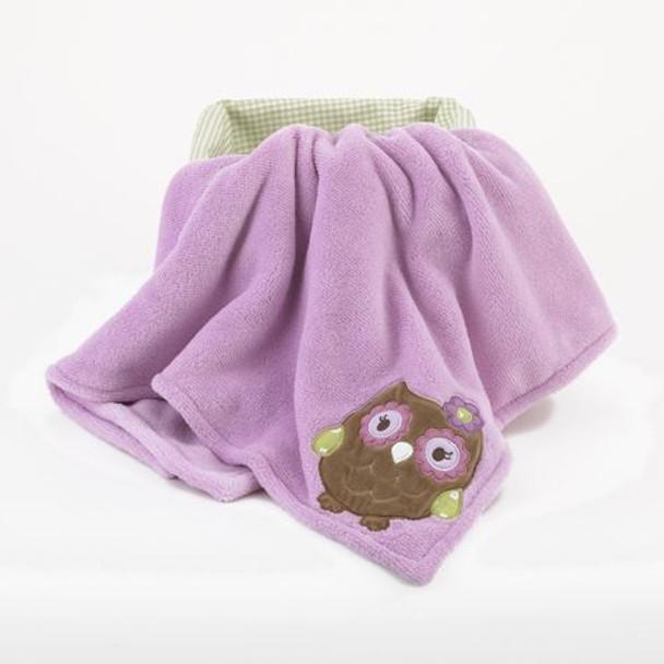 CoCo and Company Owl Wonderland BOA Blanket