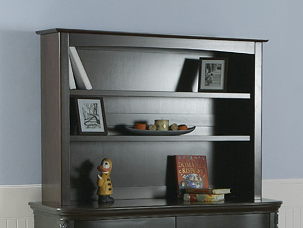 Pali Universal Bookcase/Hutch in Onyx