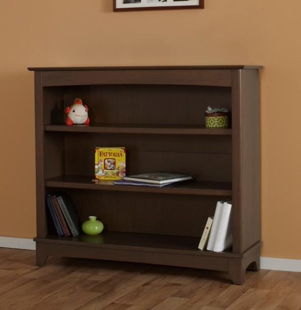 Pali Gardena Collection Bookcase Hutch in Slate