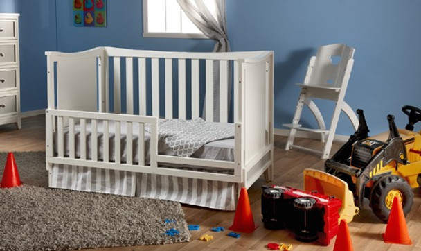 Pali Treviso Collection Toddler Rail in White