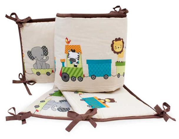 Bedtime Originals Choo Choo Collection Crib Bumper