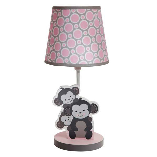 Bedtime Originals Pinkie Lamp w/shade and bulb