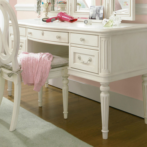 Smart Stuff Gabriella Vanity Desk in Lace