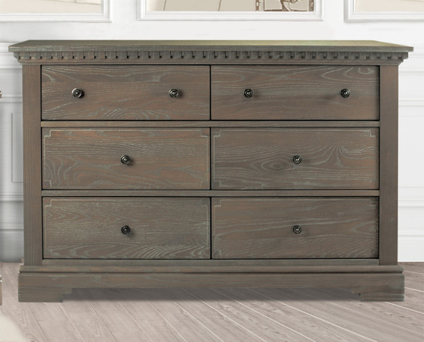 Natart Ithaca Collection Double Dresser in Owl