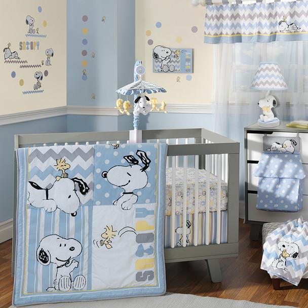 Lambs & Ivy My Little Snoopy Bedding Set