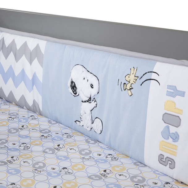 Lambs & Ivy My Little Snoopy Crib Bumper