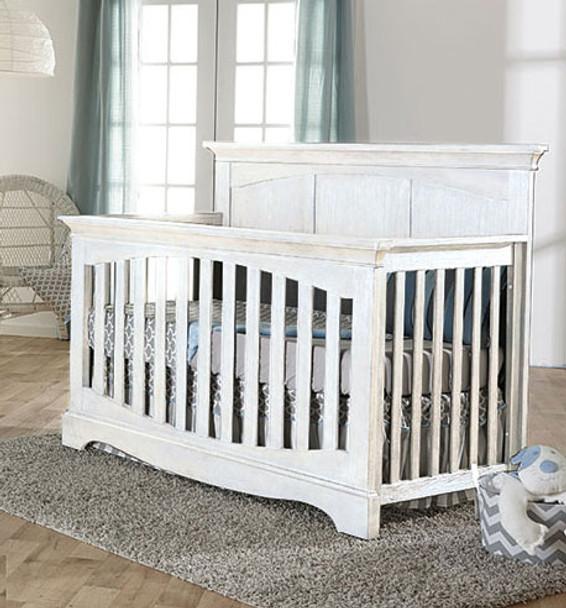 Pali Ragusa Convertible Crib in Vintage White
