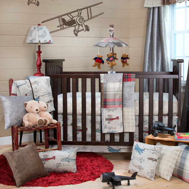 Glenna Jean Fly-By 3 Pc Set (Quilt, Sheet, and Skirt)