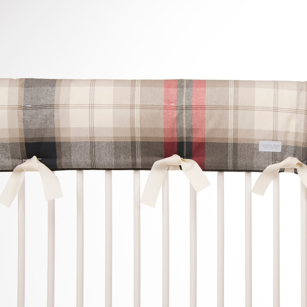 Glenna Jean Fly-By Crib Rail Protector-Short