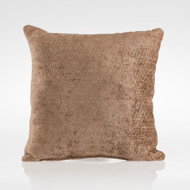 Glenna Jean Fly-By Pillow in Brown Velvet
