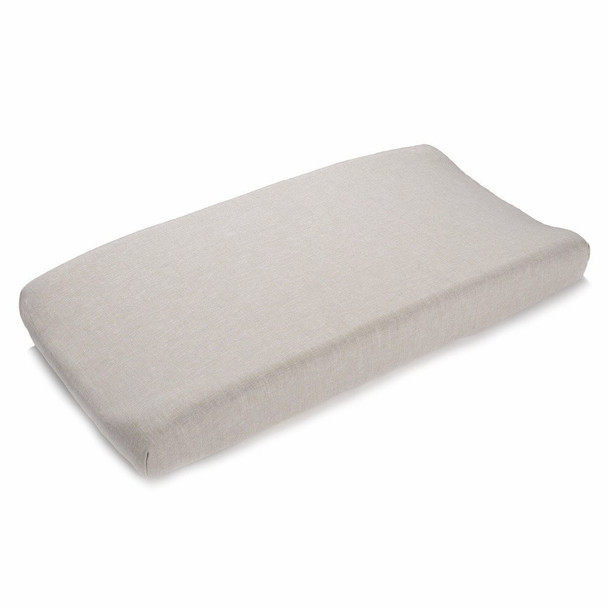 Liz and Roo Flax Linen Contoured Changing Pad Cover