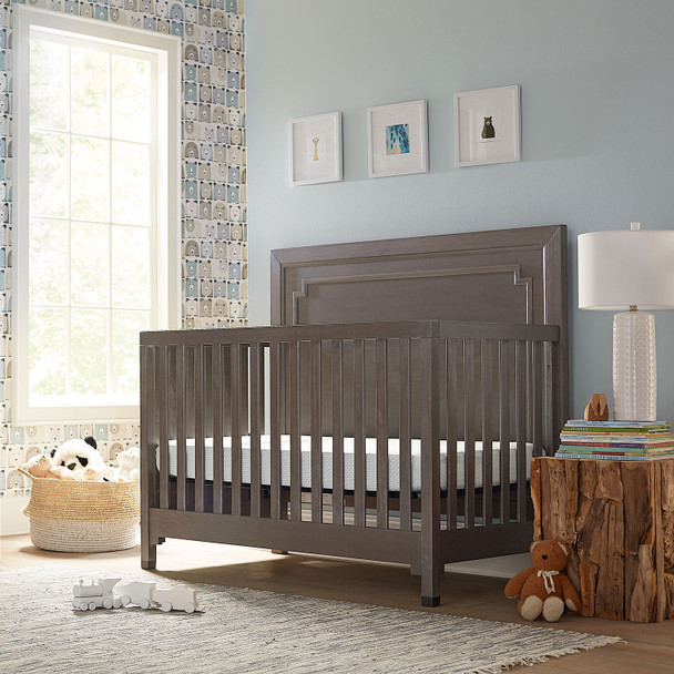 DwellStudio Beckett Convertible Crib in Weathered Grey