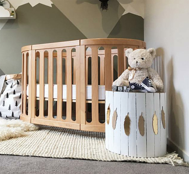 COCOON NEST Crib System in Natural