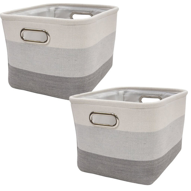 Lambs & Ivy Meadow Gray Ombre - Storage
