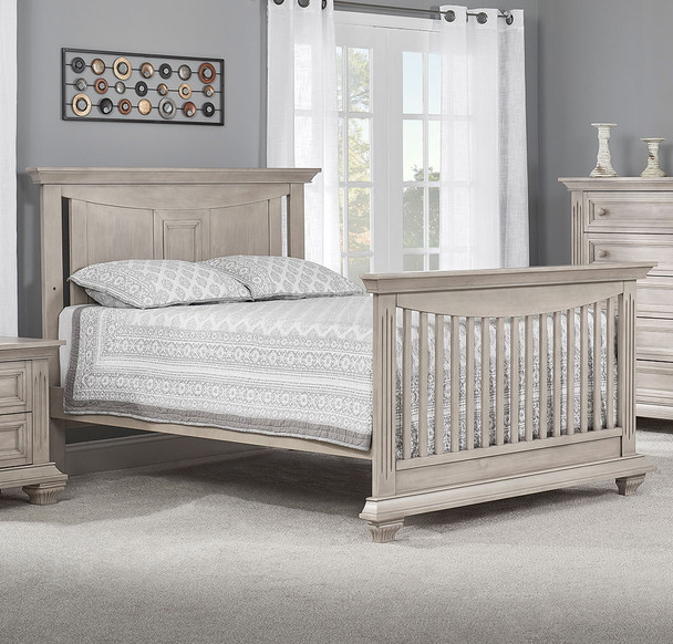 Oxford Baby Lakeville Full Bed Conversion Kit in Stone Wash