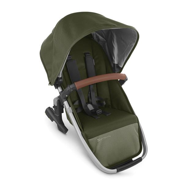 UPPAbaby Rumbleseat V2 - Hazel (Olive/Silver/Saddle Leather)