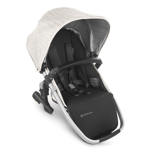 UPPAbaby Rumbleseat V2 - Sierra (Dune Knit/Silver/Black Leather)