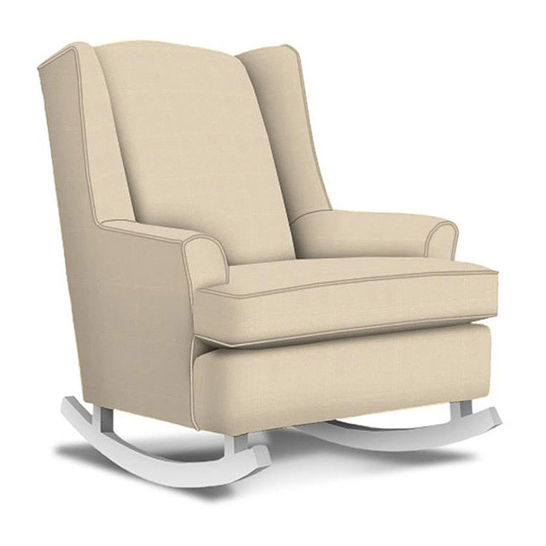 Best Chairs Willow Swivel Glider in Taupe