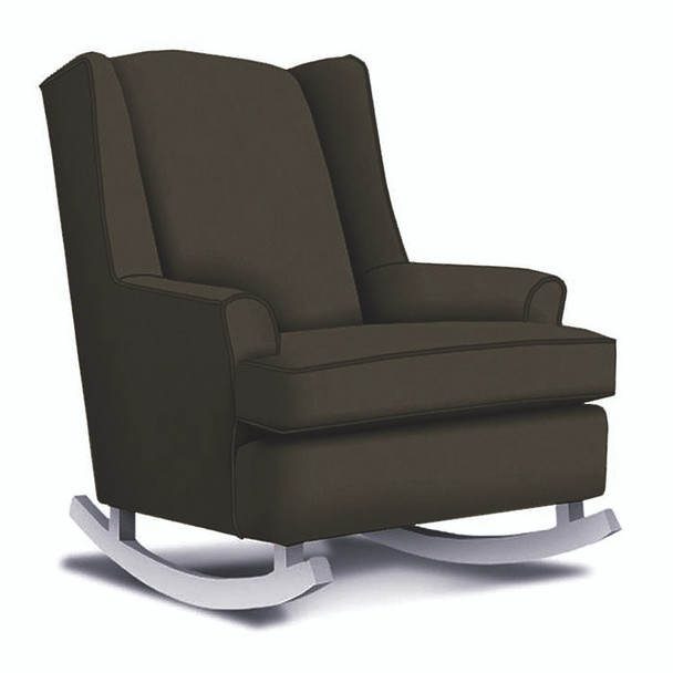 Best Chairs Willow Swivel Glider in Caviar
